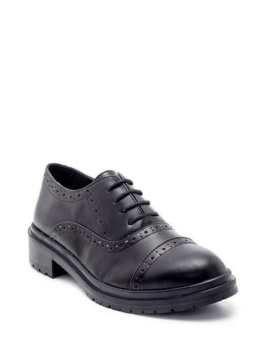 Derimod Kadın Ayakkabı (7211-07) Klasik Siyah